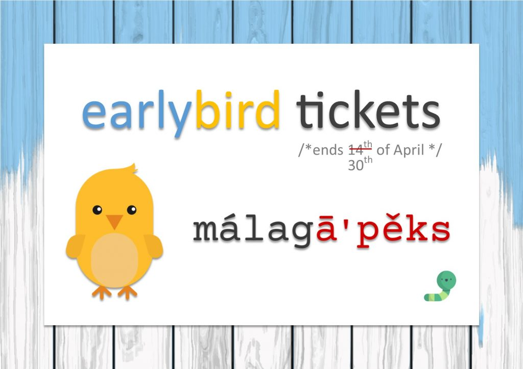 malagapex - earlybird tickets